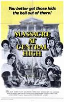 "Massacre At Central High - 11"" x 17"""