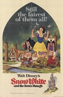 Snow White and the Seven Dwarfs Still the fairest of them all! Fine Art Print