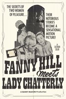 """Fanny Hill Meets Lady Chatterly - 11"""" x 17"""""""