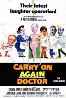 """Carry on Again Doctor - 11"""" x 17"""""""