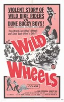 "Wild Wheels - 11"" x 17"", FulcrumGallery.com brand"