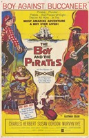 """Boy and the Pirates - 11"""" x 17"""""""