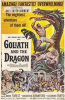 """Goliath and the Dragon - 11"""" x 17"""""""