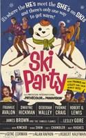 """Ski Party - 11"""" x 17"""""""