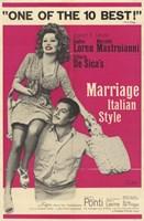 "Marriage Italian Style - 11"" x 17"""