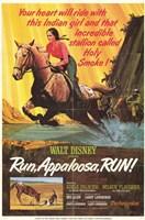 """Run Appaloosa Run - 11"""" x 17"""""""