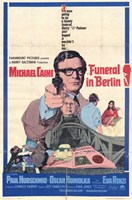"""Funeral in Berlin Michael Caine - 11"""" x 17"""""""