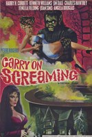 """Carry on Screaming - 11"""" x 17"""""""