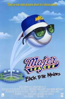 """Major League 3: Back to the Minors - 11"""" x 17"""""""