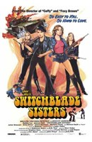 """The Switchblade Sisters - 11"""" x 17"""""""