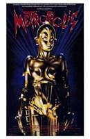 "Metropolis Gold Robot - 11"" x 17"""