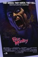 """Blue Monkey - 11"""" x 17"""""""