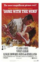 Gone with the Wind - Clark Gable Framed Print