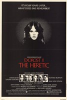 "Exorcist 2 Heretic - 11"" x 17"""