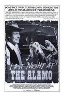 "Last Night At the Alamo - 11"" x 17"" - $15.49"