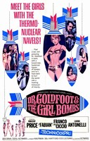 """Doctor Goldfoot and the Girl Bombs - 11"""" x 17"""""""