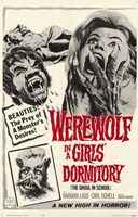 Werewolf in a Girls Dormitory Wall Poster