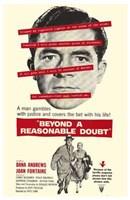 "Beyond a Reasonable Doubt - 11"" x 17"""