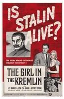 """The Girl in the Kremlin - 11"""" x 17"""""""