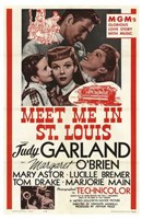 Meet Me in St Louis - red Wall Poster