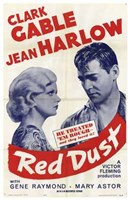 Red Dust With Gene Raymond Wall Poster