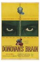 "Donovan's Brain - 11"" x 17"""