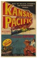 "Kansas Pacific - 11"" x 17"""