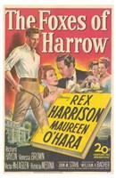 "The Foxes of Harrow - 11"" x 17"""