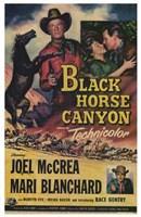"Black Horse Canyon - 11"" x 17"""