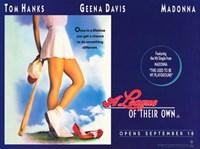 """A League of Their Own Tom Hanks - 17"""" x 11"""""""