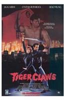 "Tiger Claws - 11"" x 17"""
