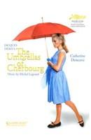 """The Umbrellas of Cherbourg Red Umbrella - 11"""" x 17"""""""