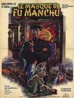 """Mask of Fu Manchu - 11"""" x 17"""""""
