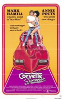 "Corvette Summer Hamill And Potts - 11"" x 17"""