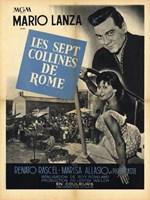 "Seven Hills of Rome - 11"" x 17"""
