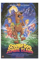 Scooby-Doo on Zombie Island Wall Poster