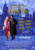 "Sidewalks of New York Movie - 11"" x 17"""