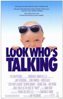 "Look Who's Talking - 11"" x 17"""