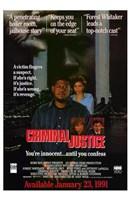 "Criminal Justice - 11"" x 17"""