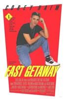 """Fast Getaway - 11"""" x 17"""""""