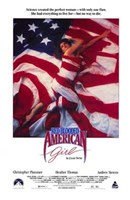 """Red Blooded American Girl - 11"""" x 17"""""""