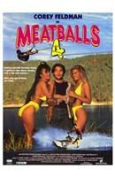 "Meatballs 4 - 11"" x 17"""