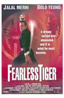 "Fearless Tiger - 11"" x 17"""