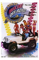 "The Great Bikini Off-Road Adventure - 11"" x 17"""