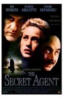 """Secret Agent - faces - 11"""" x 17"""""""