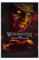 """Wishmaster 4: the Prophecy Fulfilled - 11"""" x 17"""""""