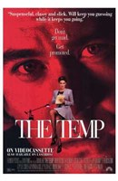 The Temp - red Wall Poster
