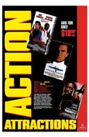 """Action Attractions - 11"""" x 17"""" - $15.49"""