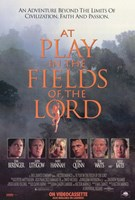 "At Play in the Fields of the Lord - 11"" x 17"" - $15.49"