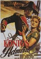 "Captain Horatio Hornblower - German - 11"" x 17"""